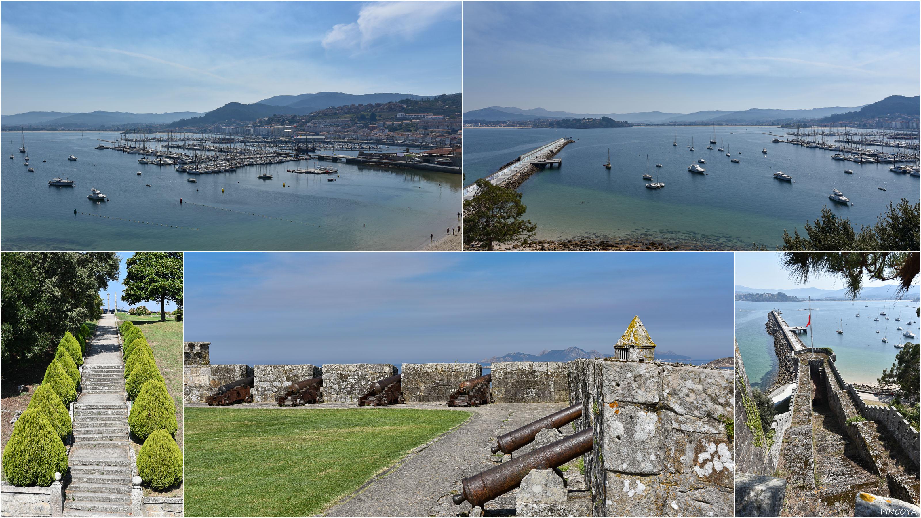 """""""Heute steht auf der Halbinsel der Burgfestung ein Hotel, aber die Halbinsel ist für Besucher offen und das Hotel hat man »historisch eingepasst«."""""""